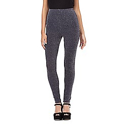 H! by Henry Holland - Grey glitter leggings