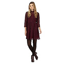H! by Henry Holland - Dark red victoriana lace dress