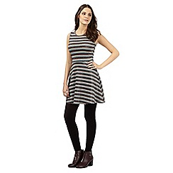 H! by Henry Holland - Silver glitter striped dress
