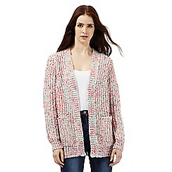 H! by Henry Holland - Pink ribbon yarn cardigan
