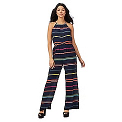 H! by Henry Holland - Multi-coloured striped print jumpsuit