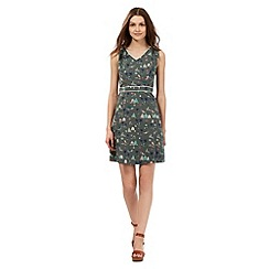 H! by Henry Holland - Khaki beach print dress