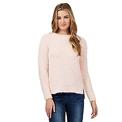 H! by Henry Holland - Light pink pom pom eyelash jumper