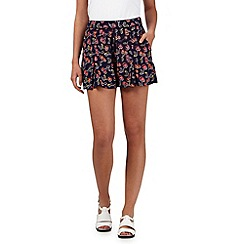 H! by Henry Holland - Navy cherry print shorts