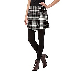 H! by Henry Holland - Black woven tartan kilt