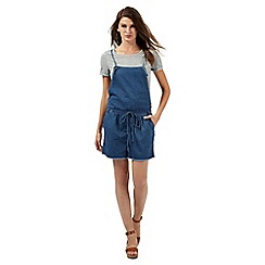 H! by Henry Holland - Blue denim playsuit