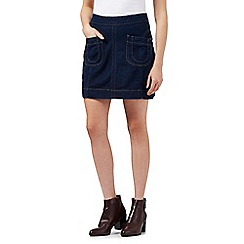 H! by Henry Holland - Dark blue denim mini skirt