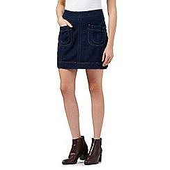 H! by Henry Holland - Dark blue denim mini skirt