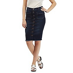 H! by Henry Holland - Blue denim pencil skirt