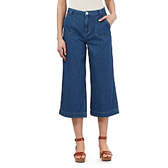 H! by Henry Holland - Blue denim culottes