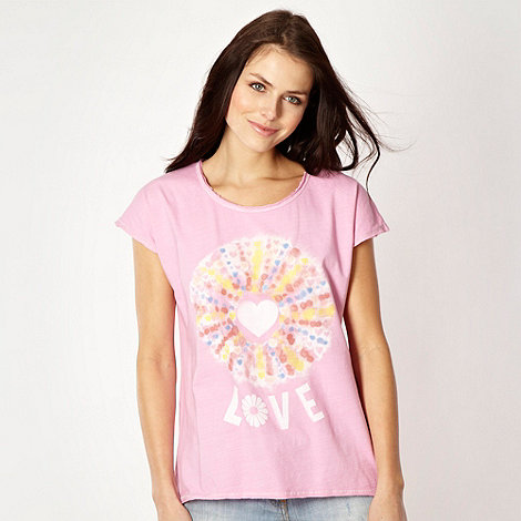 H! by Henry Holland - Designer pink +Love+ t-shirt