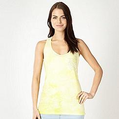H! by Henry Holland - Designer yellow dip dye vest