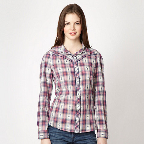 H! by Henry Holland - Blue cactus shirt