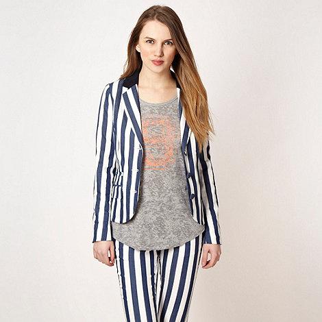 H! by Henry Holland - Designer blue striped jacket