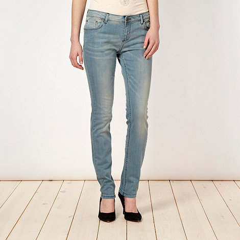 H! by Henry Holland - Designer bleached skinny jeans