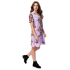 H! by Henry Holland - Multi-coloured floral print shift dress