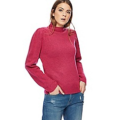 H! by Henry Holland - Pink high neck jumper