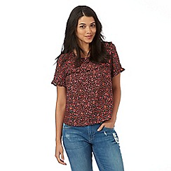 H! by Henry Holland - Multi-coloured ditsy floral print top