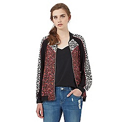 H! by Henry Holland - Multi-coloured printed bomber jacket