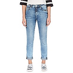 H! by Henry Holland - Light blue acid wash highwaisted slim mom jeans
