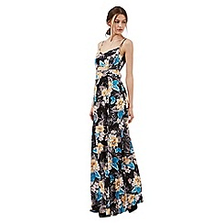 H! by Henry Holland - Multi-coloured floral print maxi dress