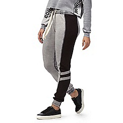 H! by Henry Holland - Grey colour block jogging bottoms