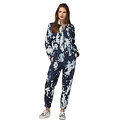 H! by Henry Holland - Blue acid wash jumpsuit