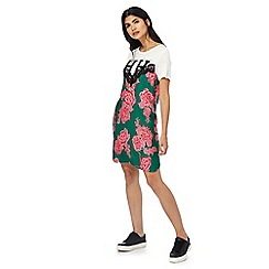 H! by Henry Holland - Multi-coloured floral print dress