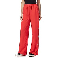 H! by Henry Holland - Red popper trousers