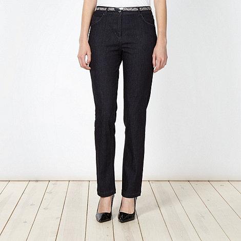 Principles Petite by Ben de Lisi - Petite navy slim leg jeans