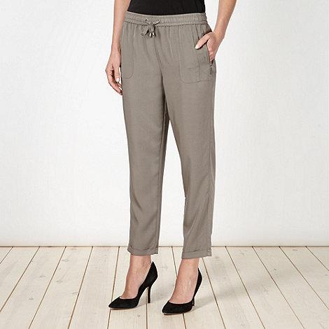 Principles by Ben de Lisi - Designer grey soft trousers