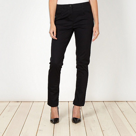 Principles by Ben de Lisi - Designer black zip pocket jeans