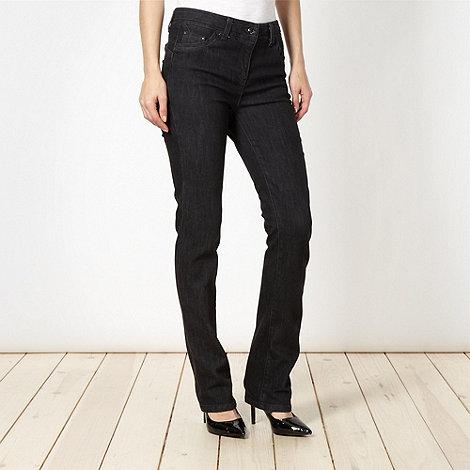 Principles by Ben de Lisi - Designer black shape enhancing bootcut jeans