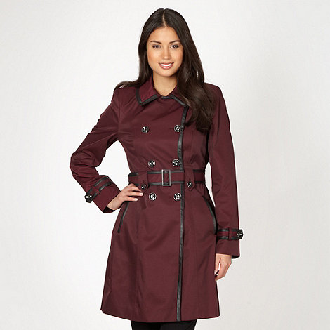 Principles by Ben de Lisi - Designer winter berry PU trim mac
