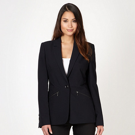 Principles by Ben de Lisi - Designer navy zip detail suit jacket