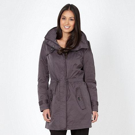 Principles by Ben de Lisi - Designer grey long trench coat