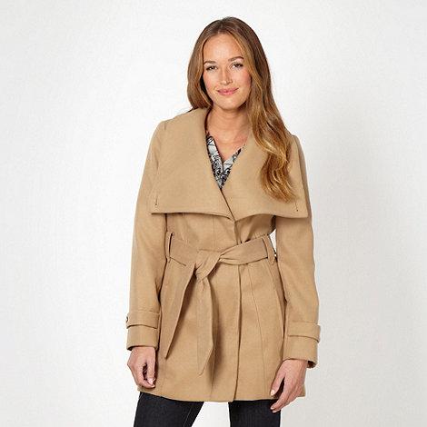 Principles by Ben de Lisi - Designer camel wrap coat