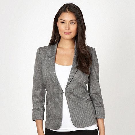 Principles by Ben de Lisi - Designer dark grey striped blazer