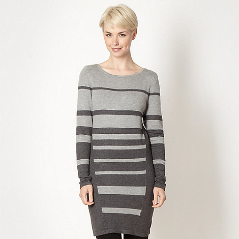 Principles by Ben de Lisi - Designer grey striped tunic