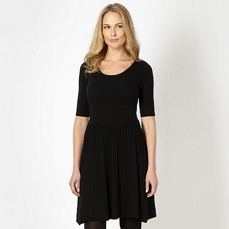 Principles by Ben de Lisi - Designer black knitted dress