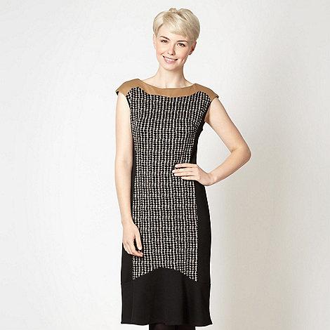 Principles by Ben de Lisi - Designer black panel dress