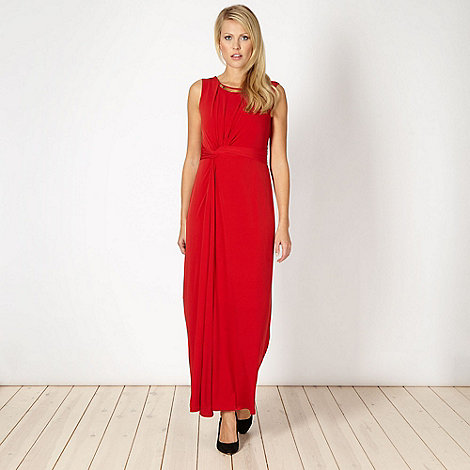 Principles by Ben de Lisi - Designer red maxi dress