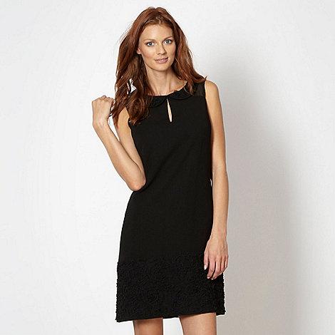 Principles by Ben de Lisi - Designer black mini frill shift dress