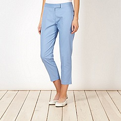 Principles by Ben de Lisi - Designer blue cropped trousers