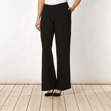 Principles by Ben de Lisi - Designer black palazzo trousers
