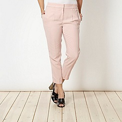Principles by Ben de Lisi - Designer pale pink soft gathered trousers