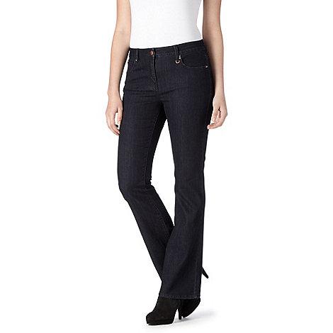 Principles Petite by Ben de Lisi - Petite designer dark blue slim fit jeans