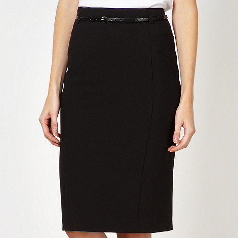 Principles by Ben de Lisi - Designer black suit skirt