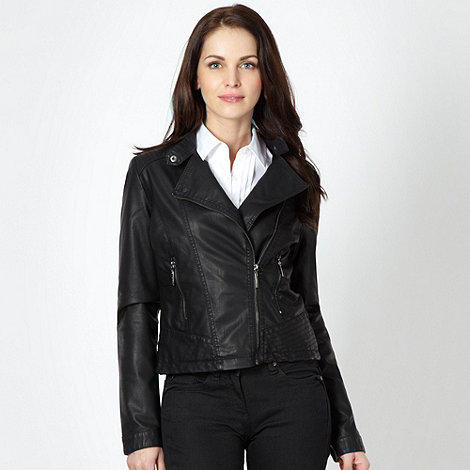 Principles by Ben de Lisi - Designer black biker jacket