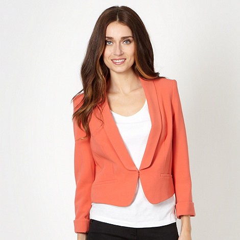 Principles by Ben de Lisi - Designer peach crepe cover up jacket
